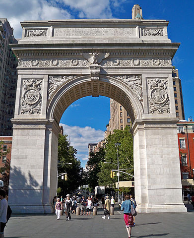 Washington Square Park in Greenwich Village. Photo by MBisanz