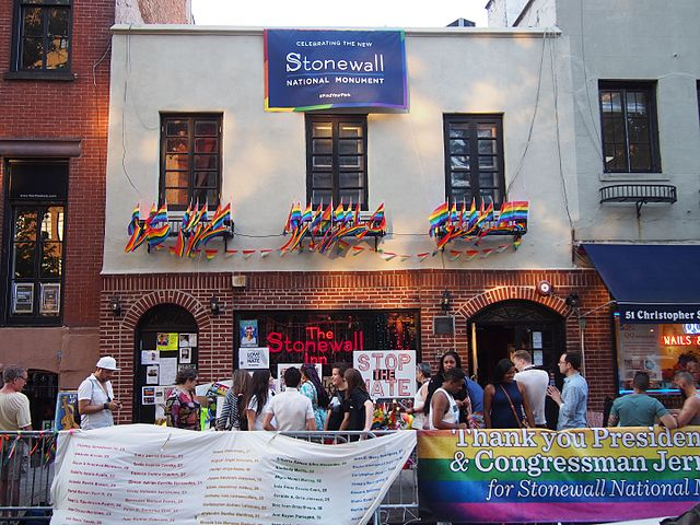 Stonewall Inn, June 25, 2016. Photo by Rhododendrites